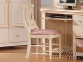 ACME 00765 CREAM/PEACH CHAIR