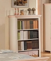 ACME 00766 CREAM/PEACH BOOKCASE