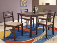 ACME 00880 ESPRESSO 5PC PACK DINING SET