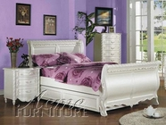 ACME 01005F PEARL WH FULL BED HB/FB/R