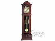 ACME 01402A GRANDFATHER CLOCK DARK WALNUT (QUARTZ)