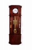 ACME 01409 GRANDFATHER CLOCK BASS WOOD