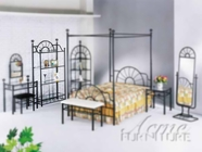 ACME 02147 SUNBURST 4-TIER ETAGERE