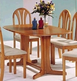Acme 02190TO Stockholm Oak Solid Wood Top Dining Table