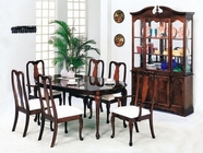 Acme 02243A-44 Queen Anne Wood Veener Dining Set