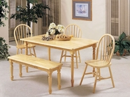 Acme 02247N-2613 Windsor Light Farmhouse Dining Set