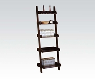 ACME 02260 ESPRESSO SHAFTER WALL SHELF W/2261