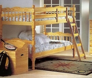ACME 02299 NATURAL T/T BUNKBED (2CTN)