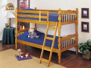 ACME 02301 HONEY OAK T/T BUNKBED (2CTN)