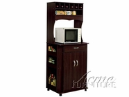 ACME 02324 ESPRESSO FINISH KITCHEN CART