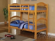ACME 02359A HONEY OAK WOODEN BUNKBED (HF/R)