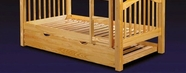 ACME 02361A HONEY OAK TRUNDLE