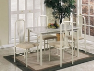 ACME 02406/7IV IVORY 5PC PK DINING SET