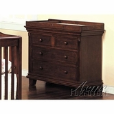 ACME 02671 CHERRY FINISH CHANGING TABLE -Pine