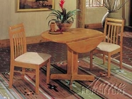 "ACME 02983 40"" RD OAK PED. TABLE"
