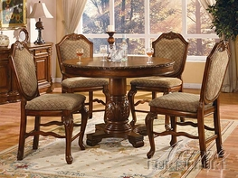 Acme 04082-84 Chateau De Ville Counter Height Dining Set