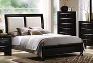 ACME 04160Q QUEEN BED W/WH HB/FB/R