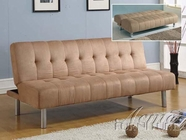 ACME 05591 CHOCOLATE MFB ADJUSTABLE SOFA (W/CA FOAM) CY-6