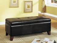 ACME 05632 BYCAST PU STORAGE BENCH
