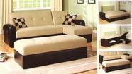 ACME 05775 ADJ. SECTIONAL SOFA (2 CTN)