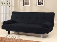 ACME 05855W-BK BLACK ADJUSTABLE SOFA (ISTA-3A)