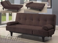 ACME 05855W-BR BROWN ADJUSTABLE SOFA (ISTA-3A)