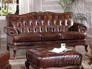 ACME 05945A FULL LEATHER SOFA (CA FOAM)