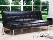 ACME 05994 BLACK PU ADJUSTABLE SOFA NO CA FOAM (PU-B12)