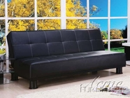 ACME 05998 BLACK PU ADJUSTABLE SOFA NO CA FOAM (PU-A1)