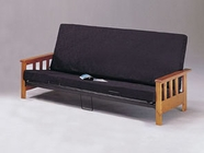 ACME 06227A MISSION STYLE WOOD FUTON (2CTN)