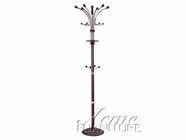 ACME 06316 ESPRESSO COAT RACK