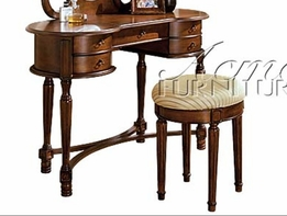 ACME 06825 VANITY SET: CONSOLE & BENCH-W/P2