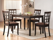 Acme 06850-51 Cardiff Espresso Dining Table Set