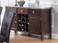 ACME 07057 SERVER W/BK MARBLE TOP =7058/7059