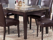 Acme 07058 Bk Marble Rec. Dining Table