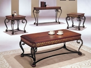 Acme 07743- Carmel Dark Oak Occasional Table Set