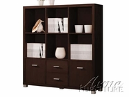 ACME 08308 DISPLAY CABINET W/SILVER LEG