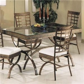 ACME 08630 EGYPTIAN DINING TABLE