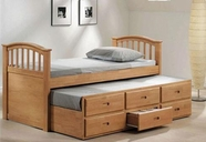 ACME 08933 MAPLE FULL CAPTAIN BED &TRUNDLE 3CTN