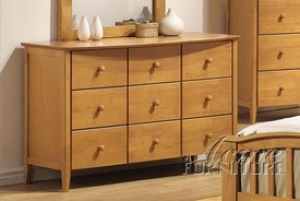 Acme 08949 Maple Youth 9 Dwr Dresser