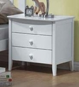 ACME 09158 WH YOUTH 3 DRAWER NIGHTSTAND