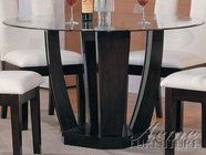ACME 10030 ROUND DINING TABLE W/6451GL