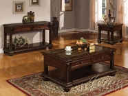 ACME 10322-23-24 Cherry Finish 3pc Coffee / End Table Set