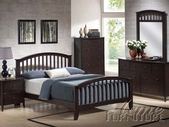 ACME 11170Q-75-76 Espresso Finish Queen Bedroom Set