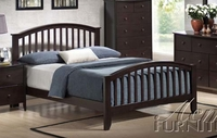 ACME 11170Q ESPRESSO QUEEN BED HB/FB/R/ST