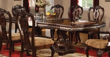 ACME 12095A DINING Table W/PEDESTAL