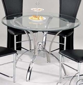 ACME 12116 CHROME DIN. TABLE W/08980GL