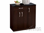 ACME 12251 ESPRESSO KITCHEN CABINET