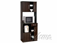 ACME 12258 ESPRESSO KITCHEN CABINET
