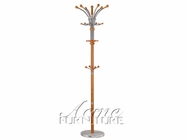 ACME 12269 OAK RACK W/MARBLE BASE